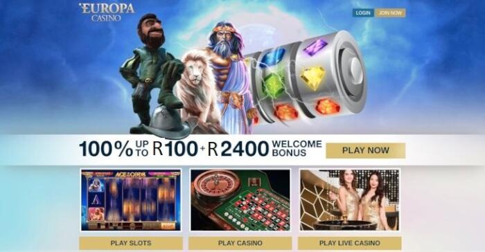 Europa Casino for SA Players