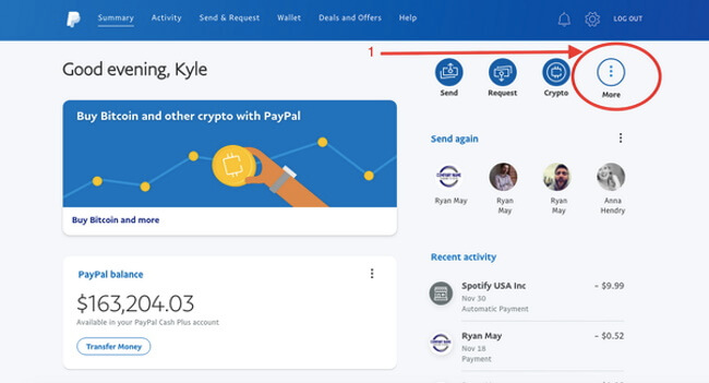 How to deposit with PayPal