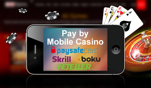 Pay By Mobile Casinos