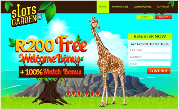 Slots Garden Casino Bonus offers