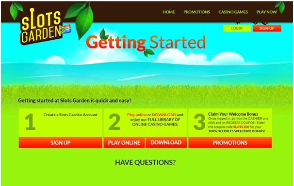 Slots Garden Casino South Africa