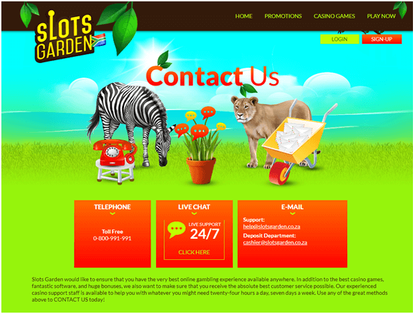 Slots garden online Rand casino