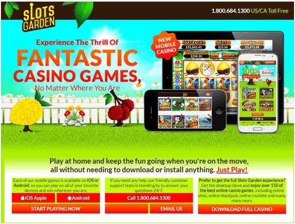 Slots Garden Online Casino