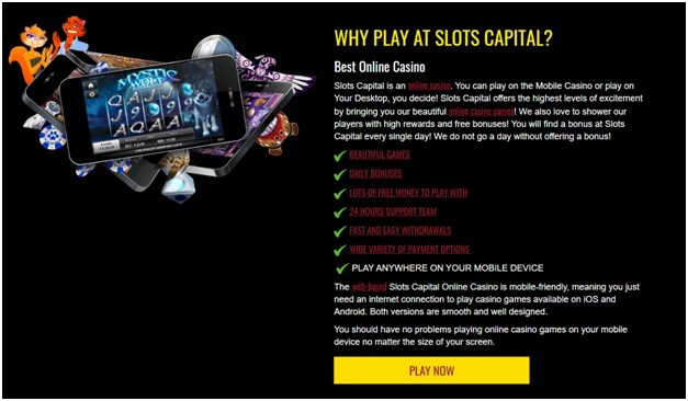 Slots capital for South African casinos