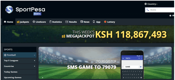 Sportpesa betting through sms free intralot sports betting