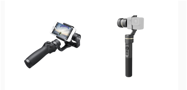 Two popular types of gimbals