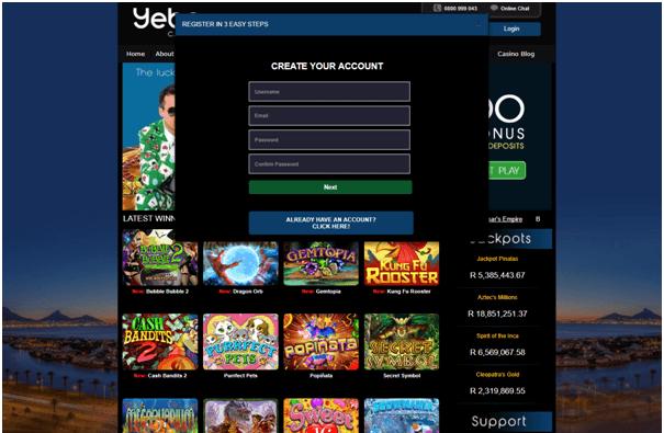 Yebo Casino App