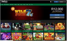 Yebo Casino SA Slots Rebate