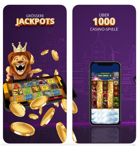 Jackpot City Casino Mobile Casino App für Slots und Casinospiele