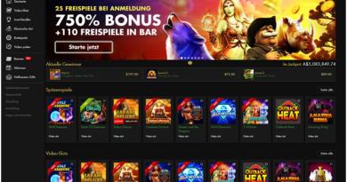 Reichhaltiges Casino für deutsche Spieler, um Online-Slots, Live-Casino und mehr zu spielen