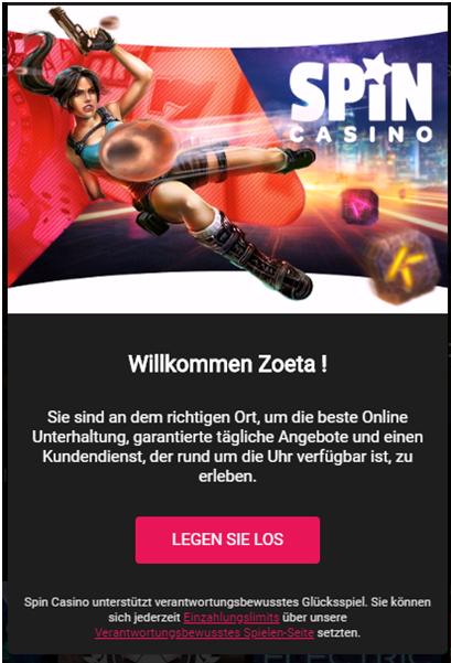 Spin Casino Handy