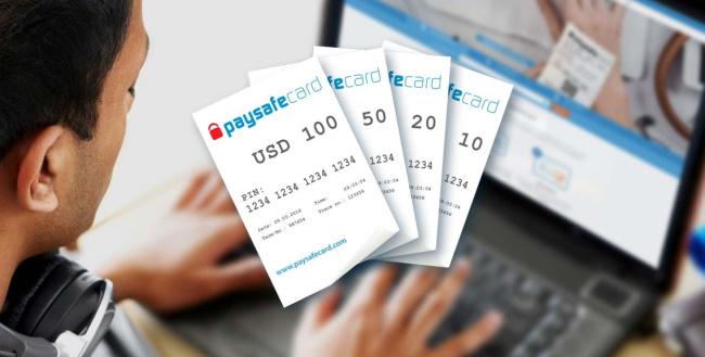 Wertkartenverkauf Paypal