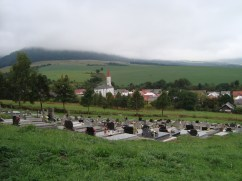 Village from new cemetery