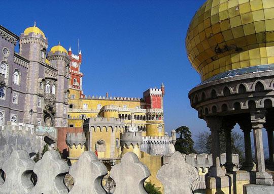 Il palazzo da Pena a Sintra