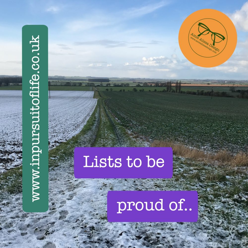 Time for reflection lists to be proud of