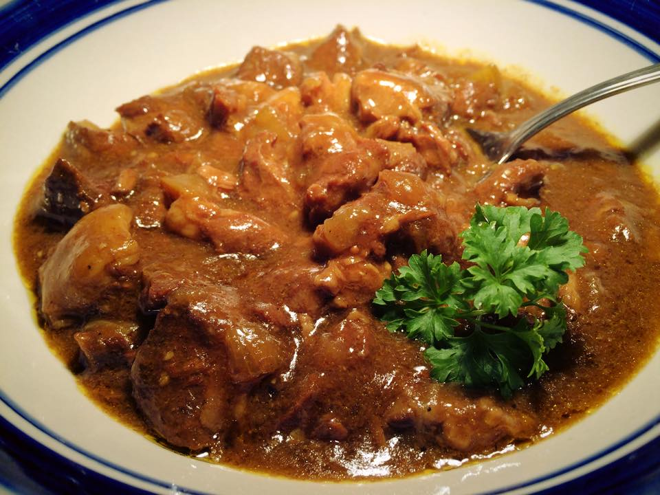 Sweet Lamb Curry