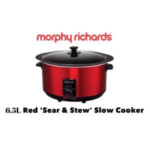 MORPHY RICHARDS 6.5L SEAR & STEW