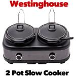 Westinghouse 2 Pot Slow Cooker