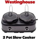 Westinghouse 2 Pot Slow Cooker