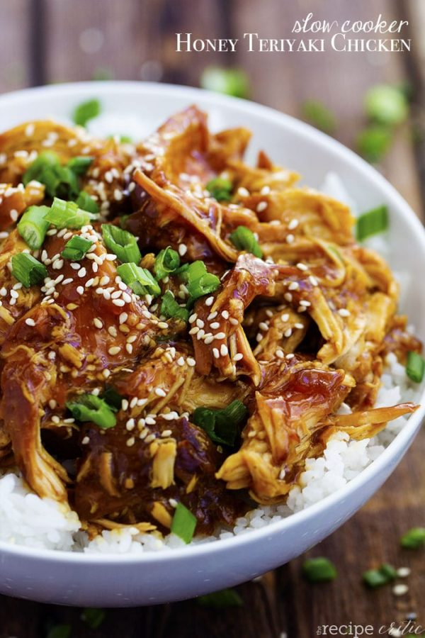 Instant Pot or Slow Cooker Teriyaki Chicken Recipes - Slow ...