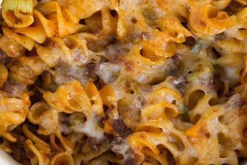 Crockpot Cheeseburger Macaroni