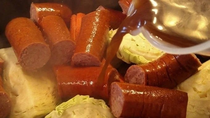 One-Pot Smoked Sausage