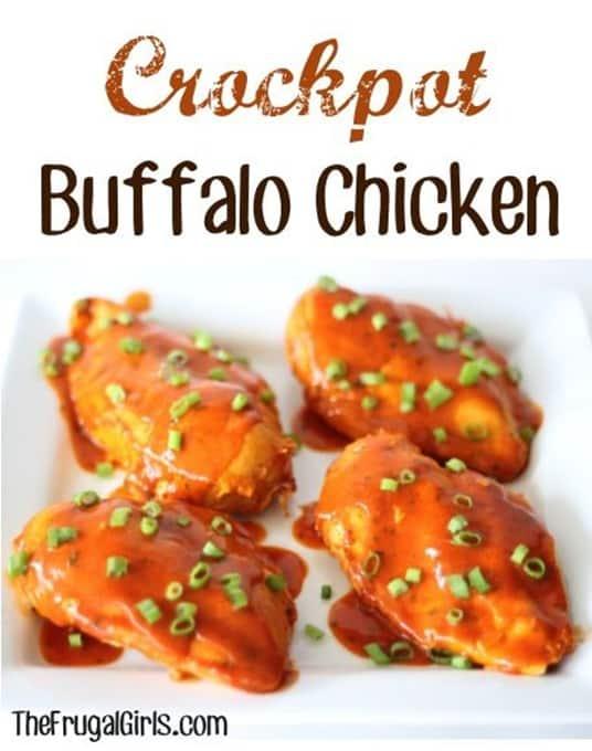Slow Cooker Buffalo Ranch Chicken