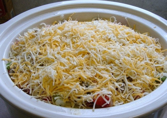 Slow Cooker Ham and Cheese Casserole
