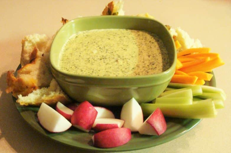 Garlic Spinach Dip