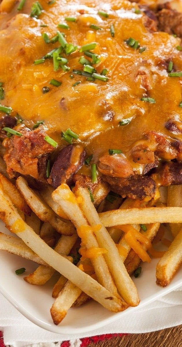 crockpot chili cheese fries
