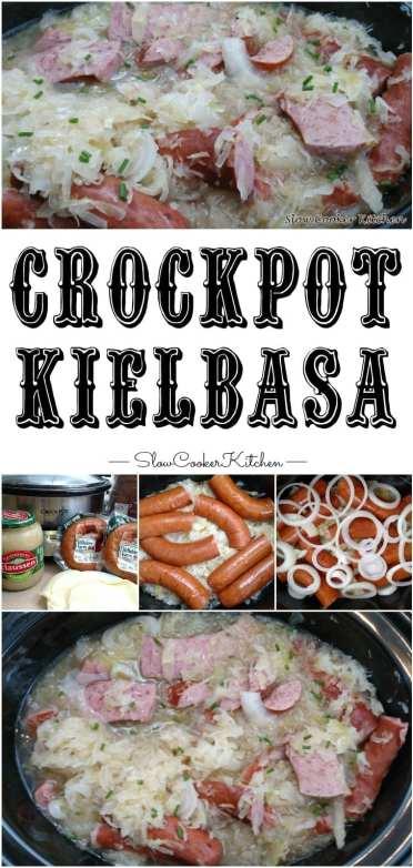 Crock Pot Kielbasa