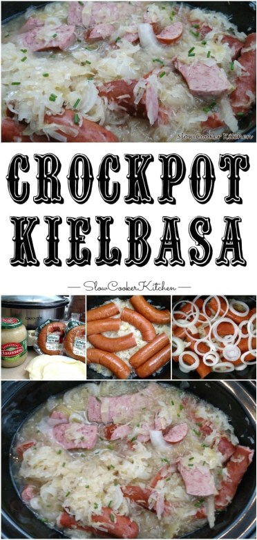 Crock Pot Kielbasa