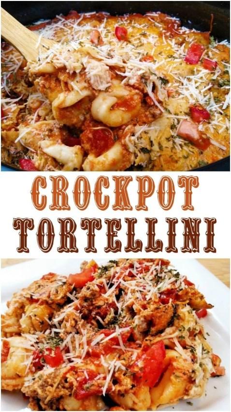 Crockpot Tortellini