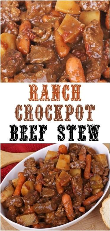 Ranch Crockpot Beef Stew