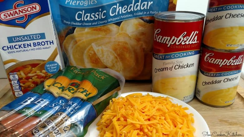Crock Pot Pierogies Casserole