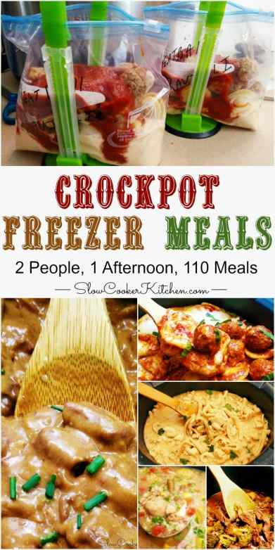 Crock Pot Freezer Meals