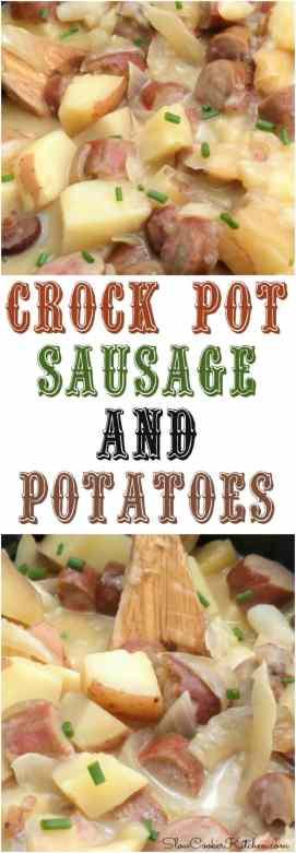 Crock Pot Sausage and Potato Dinner