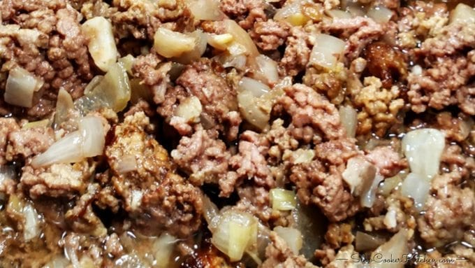 Make-Ahead Slow Cooker Ground Beef