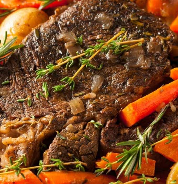 5-Ingredient Crock Pot Pot Roast