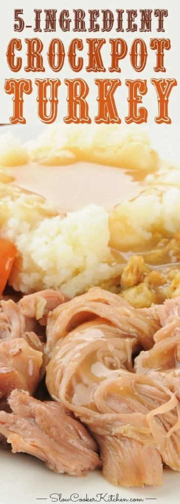 easy whole crockpot turkey