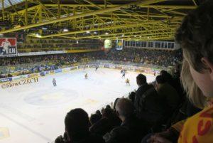 Hokej je v Česku velice populární.