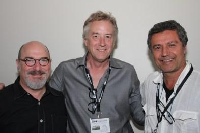 Jerry Atnip with Jerry Siegel and Ernesto Bazan