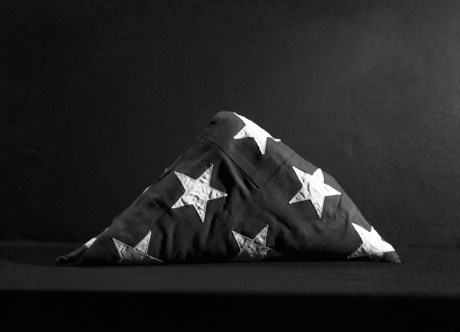 Folded Flag © Rob McDonald