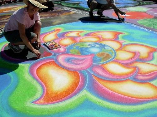 chalk-flower
