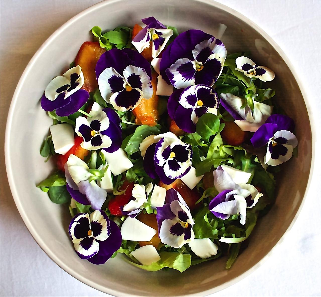 Risultati immagini per fiori da mangiare