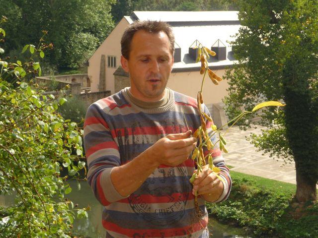 Visite guidée des jardins du couvent »Klouschtergaart » (Rapport / Bericht)