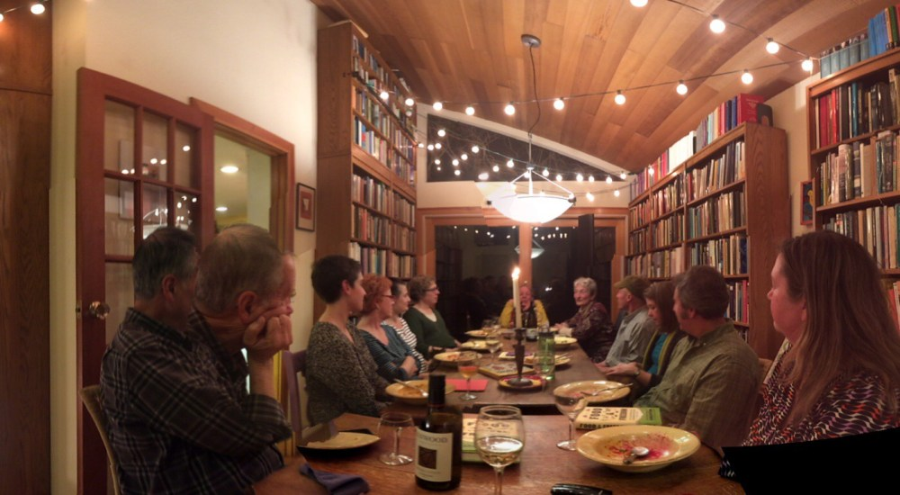 Slow Food Russian River Book Group at their February 2016 session.