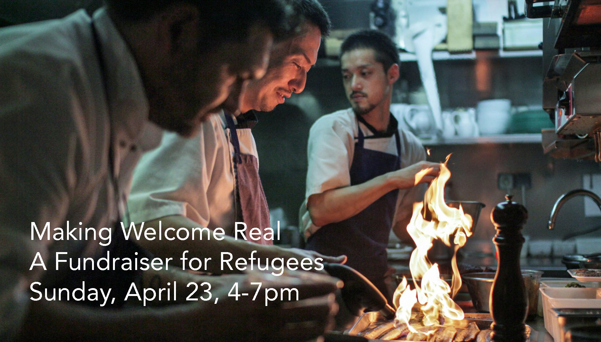 Making Welcome Real – A Fundraiser for Refugees