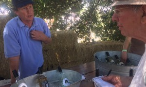 Got Cider - Paul Kolling with Jonah Raskin at the 2016 Gravenstein Apple Fair