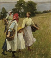 Harold Harvey The Blackberry Harvest